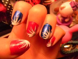 Fireworks and Nails by Celeste707