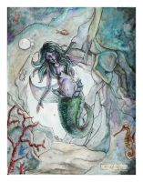 The Mermaid by yusef-abonamah