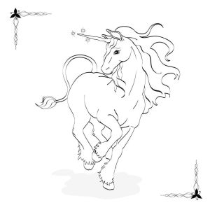 Coloring Pages For Adults Alicorns