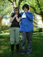 The Couple -Hetalia Photoshoot by Blind-Fox