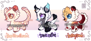 Offer to adopt: Mini feline series (CLOSED) by Mad-Izoku