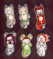 cellphone charm set 1 by zirio
