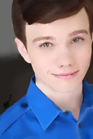 Chris Colfer - Painting by LoonyMuffins