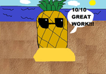 Lonely Pineapple by Im-the-man-guy