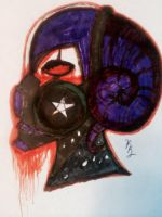 Gas Mask Noctune by NightmareFlames