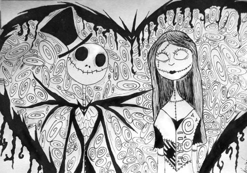 jack and sally by eyekiss
