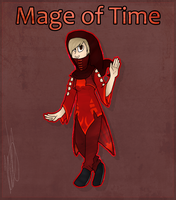 Mage of Time by RiniWold