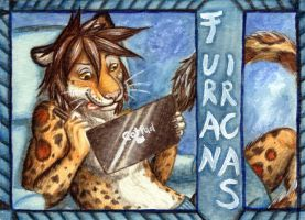 Furan Maxi Badge 1 by Schiraki