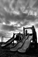 Playgrounds are scary by vuittonplaya