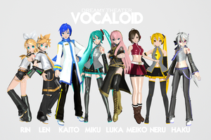 Dreamy Theater Vocaloids by Zaicy