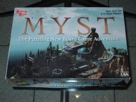 Myst the puzzle board game! by UNDEADWARRIOR7411