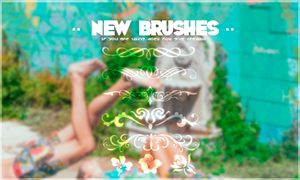 {New Brushes} by LuanaTutoriales
