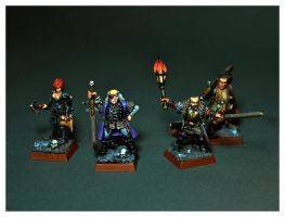 Mordheim Witch Hunters by DorianM
