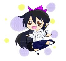 Chibis: Girl in School Uniform by onizuka09