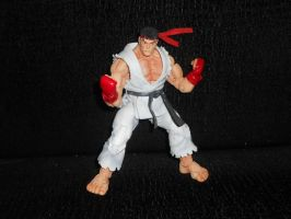 Ryu SF4 action figure by IronCobraAM