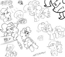 Wall of Pinkie Pie by MAST3RLINKX