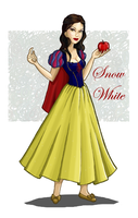 snow white by blastedgoose