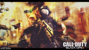 Black Ops 2 Wallpaper by Mrsheloner