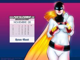 Fan. del Espacio _ Space Ghost by PortalComic