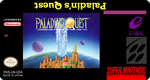 Paladin Quest SNES cartridge label by Madsiur