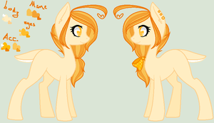 + Citrine - reference sheet - SOLD + by OwlliesPonies