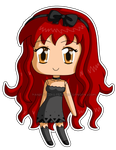 [Commission] Mini Chibi Cleo by izka197