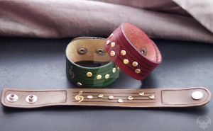 Zelda Ocarina Songs Wristbands by Spiked-Fox