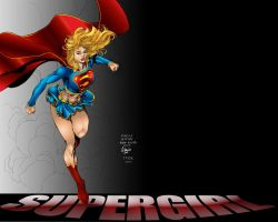 Supergirl wallpaper by TFoK
