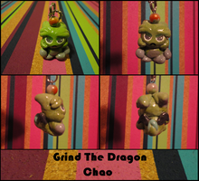 Grind the Dragon Chao Charm by CritterKat