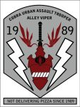 Cobra Ally Viper insigna patch by angelus0313