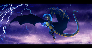 Storm Bringer by Bluehasia