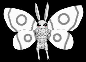 Snowflake the fairy moth by cyrax76