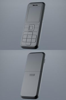 Concept Cell Phone by ValdesBG