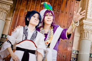 Magi The Labyrinth of Magic by josephlowphotography