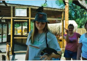 Me and Lorikeets part 1 by Lily-Marie