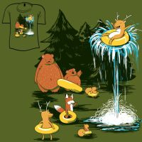 Woot Shirt - National Park by fablefire