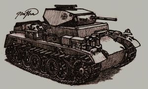 Panzer I Ausf. C by TimSlorsky