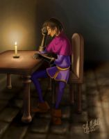Candle Clopin by Ellybethe