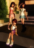 Kairi Pack [XPS] by LexaKiness
