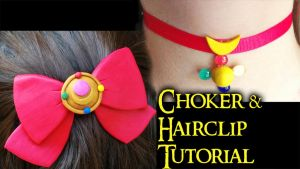 Sailor Moon Accessories (video tutorial) by NerdEcrafter