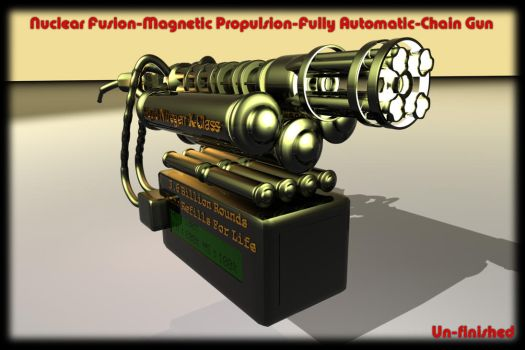Nuclear Fusion Gun by REDWOOD3D