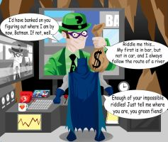 Disney's Batman : The Riddler by memorypalace