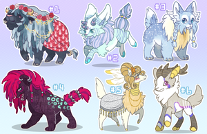 Assorted Adopts [1/6 OPEN -- 50% OFF] by albinosharky