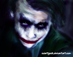 Eyes of the Joker by EdArtGeek