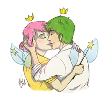 Cosmo and Wanda by Kiniki-Chan