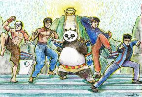 Legends of Kung Fu by SpaceBoy969