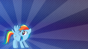 Wallpaper - A Proper Wallpaper for Rainbow Dash by Vetali