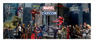 Marvel Vs. Capcom film by Justiceavenger