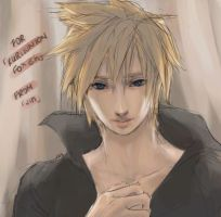 gift: cloud strife by aku-ri-ru