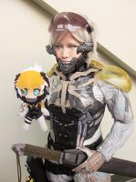 Amazing Raiden with chibi Raiden !!!!! by CuddlesZombie